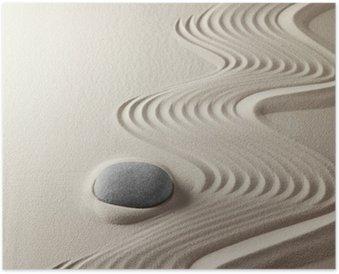 Plakát Japanese zen zahrada