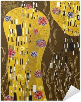Plakát Klimt inspiroval abstraktní umění