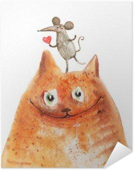 Plakát Kočka s Mause