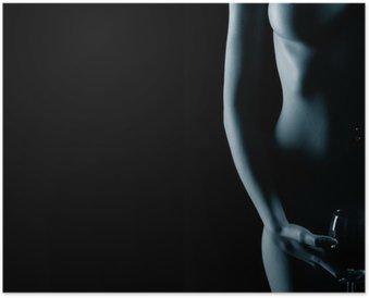 Plakát Krásné nahé ženy