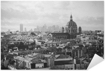 Plakát Krásný retro pohled na Paříž