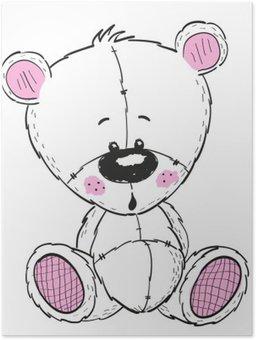 Plakát Kresba Teddy