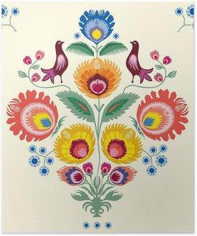 Plakát Květiny Lowicz