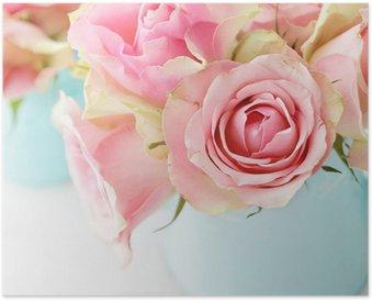 Plakát Květiny ve váze