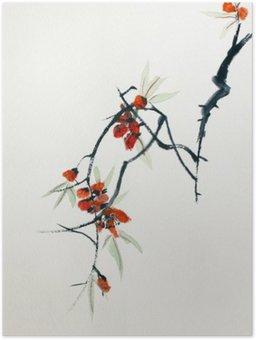 Plakát Kvetoucí sakura
