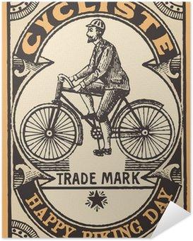 Plakát Le cycliste