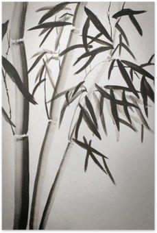 Plakát Listy bambusu