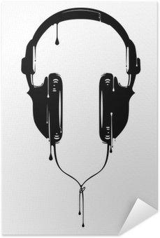 Plakát Malované Sluchátka