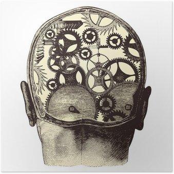Plakát Mechanický mozek