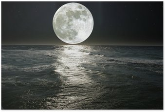 Plakát Měsíc