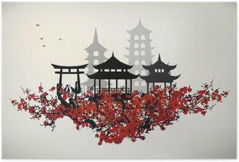 Plakát Město China