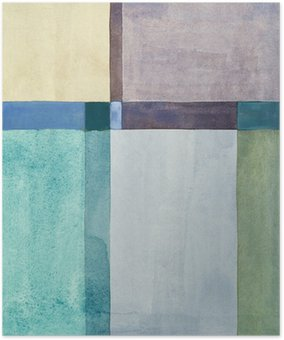 Plakát Minimalistická abstraktní malbu
