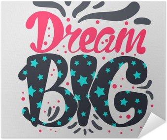 Plakát Motivace a Dream popisovaného Concept