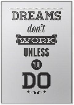 Plakát Motivační plakát