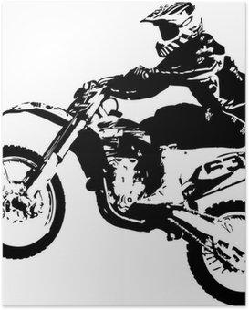 Plakát Motocross jumper