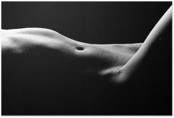 Plakát Nahé bodyscape Obrázky Žena