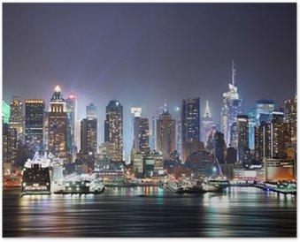 Plakát New York City Times Square
