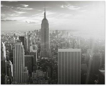 Plakát New york skyline