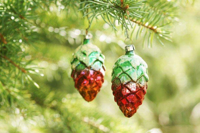 Plakát Nostalgické ozdoby na vánoční stromky - Mezinárodní svátky