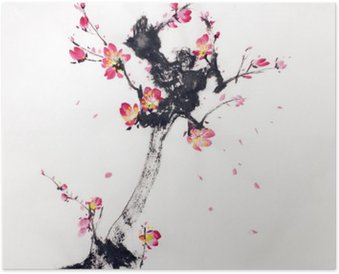 Plakát Obor sakura