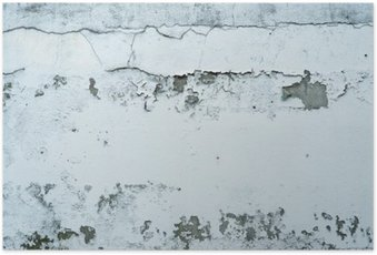 Plakát Odlupování barvy na kamenné zdi