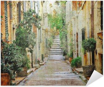 Plakát Okouzlující ulice Mediterranian, umělecké fotografie