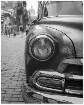 Plakát Oldtimer auf Kuba