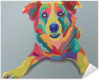 Plakát Pes pop-art