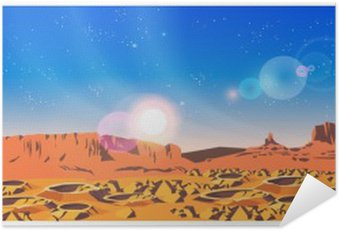 Plakát Planet krajina