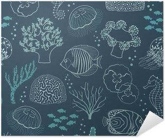 Plakát Podmořský život vzor
