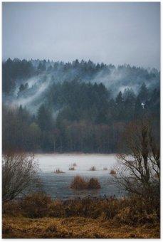 Plakát Podzimní mlhy / Mists of Vancouver Island
