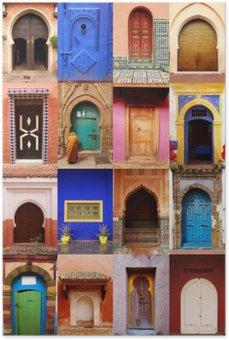 Plakát Portes du Maroc