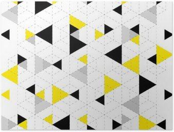 Plakát Pozadí geometrický vzor