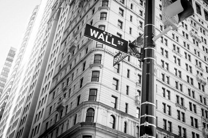 Plakát Přihlásit se na Wall Street New York City -