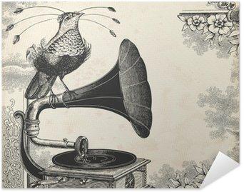 Plakát Pták hudba