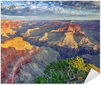 Plakát Ranní světlo na Grand Canyon