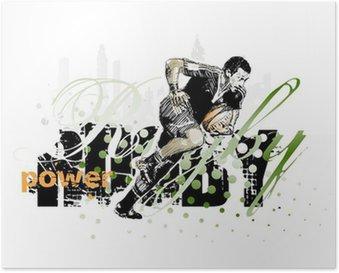 Plakát Rugby 1