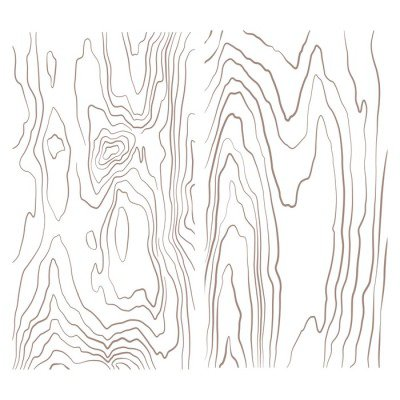 Plakát Různé monochromatické dřevo sbírka textury ilustrace.