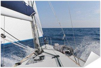 Plakát Rychlost plachetnice v moři