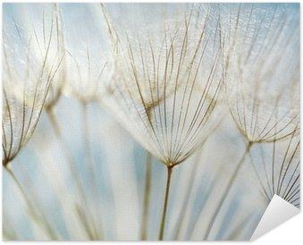 Plakat Samoprzylepny Abstrakcyjne tło kwiat mniszka