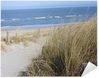 Plakat Samoprzylepny Plaża Morze Północne