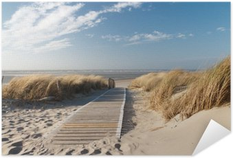 Plakát Severní moře pláž v Langeoog