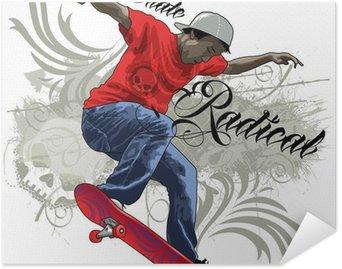 Plakát Skate Radical