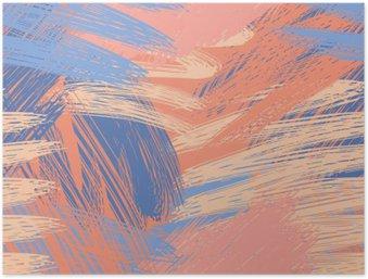 Plakát Sofistikované pastel podtisk