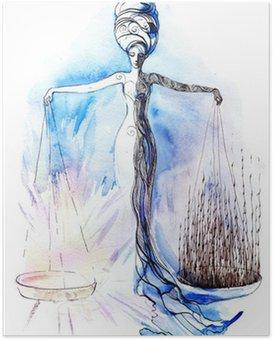 Plakat Sprawiedliwość