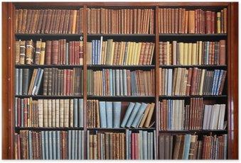 Plakát Stará knihovna regál
