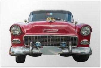 Plakát Staré americké auto