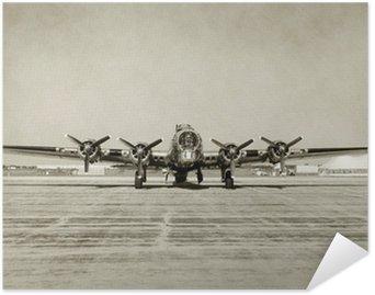 Plakát Staré bombardér čelní pohled
