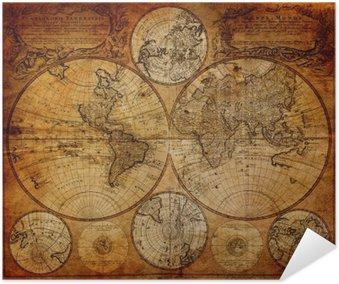 Plakát Staré mapy (1746)
