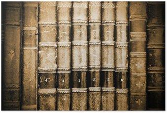 Plakat Starożytne Bookds